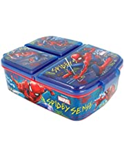 Theonoi Kinderbroodtrommel / lunchbox / sandwichbox selecteerbaar: Avengers - Mickey - Paw van kunststof BPA vrij - leuk cadeau voor kinderen (Spiderman)