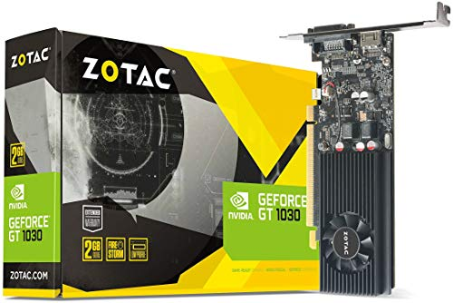 Zotac ZT-P10300A-10L NVIDIA GeForce GT 1030 2GB GDDR5 DVI/HDMI PCI-Express Video Card by ZOTAC