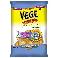 Vege Chips Sweet and Sour Vegetable Chips, 6 x 100 g, Sweet and Sour