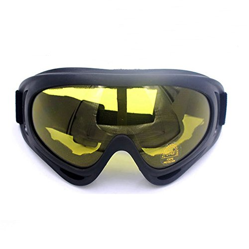 Ski goggles Skate Glasses for Kids Boys & Girls Youth Men & Women with UV 400 Protection Wind Resistance Anti-Glare Lenses Anti-shock by Wotesport (Bright - Children's Ski Prescription Goggles