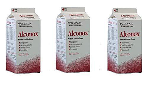 Alconox Powder Labware Detergent, 4 lbs Box (Тhrее Pаck)