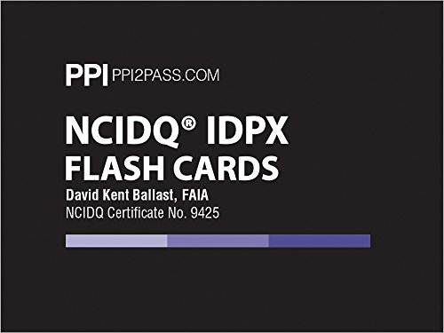 NCIDQ IDPX Flash Cards