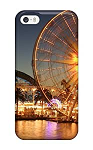 5/5s Scratch-proof Protection Case Cover For Iphone/ Hot Ferris Wheel Phone Case