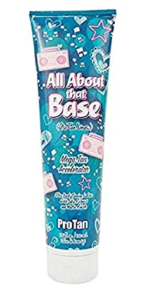 ProTan All About That Base Mega Tan Accelerator Lotion 9.5 ounce by Pro Tan