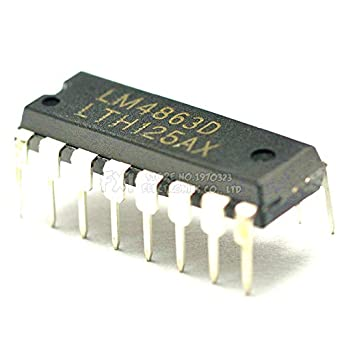 Amazon.com: 10 amplificadores de audio IC LM4863D DIP16 ...