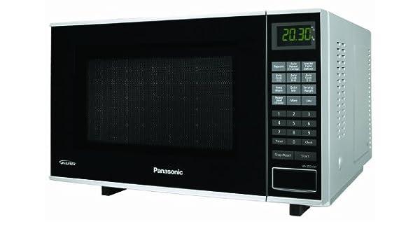 Panasonic NN-SF550M, Plata, 12020 g: Amazon.es: Hogar
