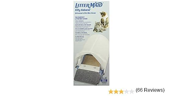 LitterMaid Kitty Kabana Universal Caja de Basura privacidad Tienda de campaña (lmt200): Amazon.es: Productos para mascotas