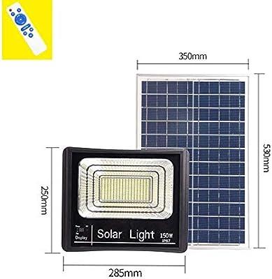 Q-fo Focos Proyector Solar Exterior Luz De Seguridad Impermeable ...