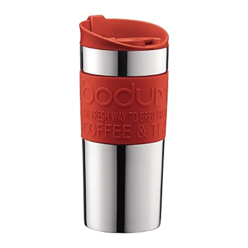 Bodum Stainless Steel Vacuum Travel Mug 0.35L / 12oz Red