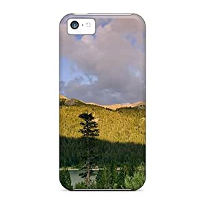 fenglinlinNew Arrival iphone 6 4.7 inch Cases Large Rainbow Over Beautiful Lscape Cases Covers