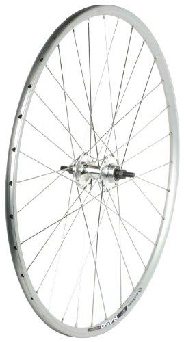 - Sta-Tru Silver Formula High Flange Flip-Flop Track Hub Rear Wheel (700X20)