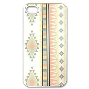 Custom Your Own Personalised Hipster Tribal Aztec iPhone 4/4S Best Durable Case Cover by icecream design