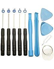 11st / set 11 i 1 mobiltelefoner Öppnande Pry Reparationsverktyg Kit Telefon Skruvmejslar Verktygsset för Samsung