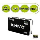 Kinivo 550BN 4K HDMI Switch with IR Wireless Remote (5 Port
