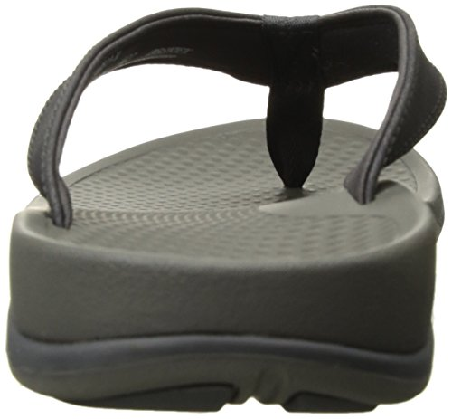 Flop Superfeet 2 Magnet Flip Outside Sandals Men's Charcoal Gray vPfqU