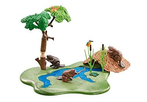 Playmobil Beaver Lodge Add On Playset
