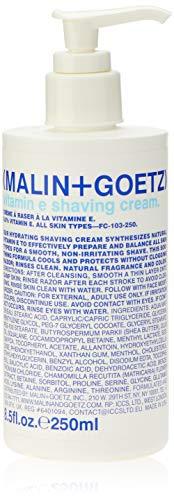 Malin + Goetz Vitamin E Shaving Cream, 8.5 Fl Oz