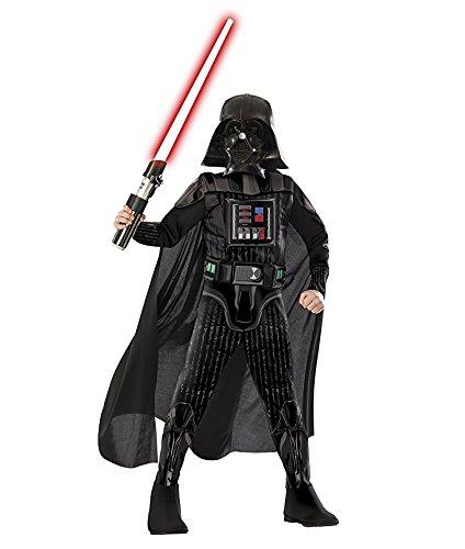 Disney Darth Vader Costumes (Disney Darth Vader Medium Halloween Costume, Black, Ages 5-7 (Us Kids' Size 8-10))