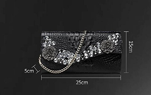 Bags Shoulder Large Elegant Luxurious Bags Capacity Rhinestone Bags Clutch Bags Evening Party Women's Gold Messenger tqAHwaTq