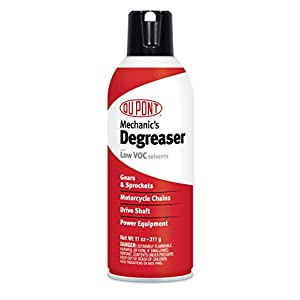 DuPont Motorcycle Degreaser for Chain and Sprockets 11-Ounce Aerosol