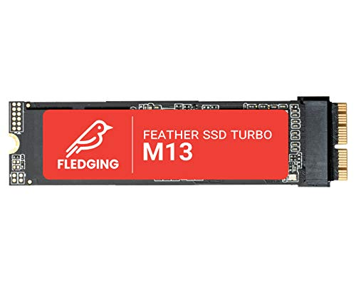 Feather M13 SSD Internal Upgrade (512GB) - NVMe Hard Drive for Apple MacBook Pro 2013-2015, MacBook Air 2013-2017, iMac 2013-2017
