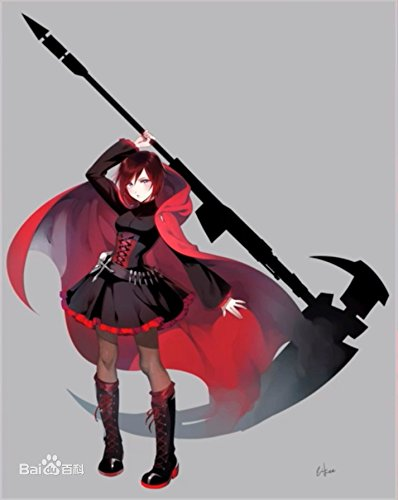 Ruby Rose Shoes Rwby Cosplay Ruby Red Leather Boots For Adults
