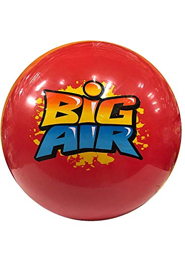 Wave Runner Big Air Ball Indoor and Outdoor Inflatable Giant Beach Balls (Colors May Vary, Large) -