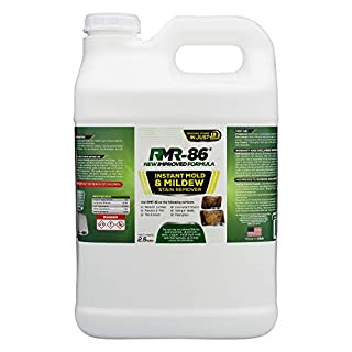 RMR-86 Instant Mold and Mildew Stain Remover Spray - Scrub Free Formula, Bathroom Floor and Shower Cleaner, 2.5 Gallon (320 Fl Oz)