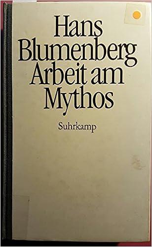 BLUMENBERG MYTHOS EBOOK DOWNLOAD