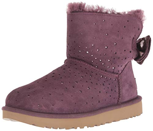 UGG Women's W STARGIRL Bow Mini Fashion Boot Port 9 M US