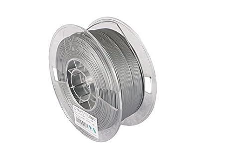 Ys ys-alu-n-1.75 - 1.0 aluminio Pla filamento, compatible con ...