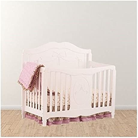 Trent Home Aylesbury Fairy Tale Princess Convertible Crib In White