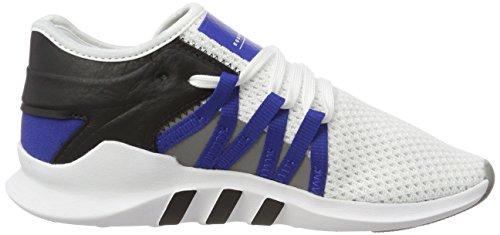 Adidas Womens Eqt Racing Adv, Bianco / Royal / Nero Bianco / Reale / Nero