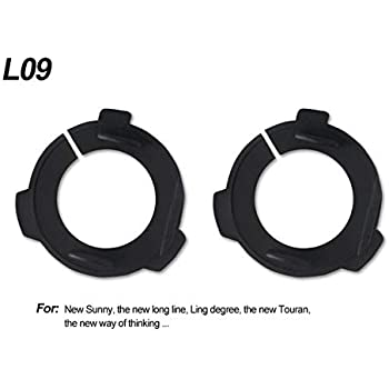 H7 LED Kit Headlights Bulbs Base Holders Adapter Car LED Clip Retainer Sockets Adaptor for Kia Hyundai Lamando New Touran - (Color: L09)