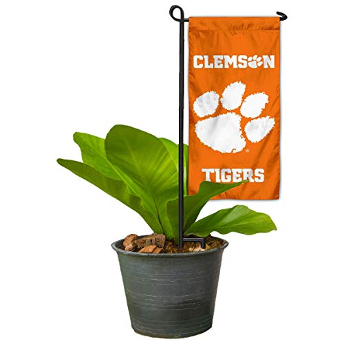 Clemson Tigers Mini Garden and Flower Pot Flag Topper
