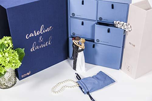 Handwritten Personalized Wedding Keepsake Box-Monogrammed Memory Box-Wedding Shower-Bridal Shower Gift-Engagement Gift-Anniversary Present-Couples Gift-Handmade-Wedding Album-Wedding Card Box