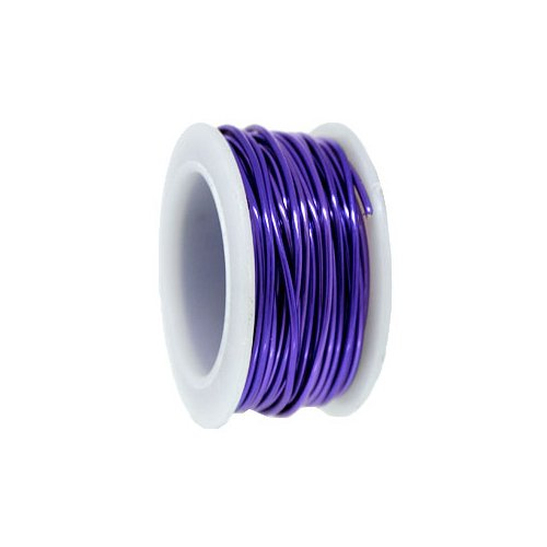 Parawire, Lavender, Non Tarnish, Silver Plated, Craft Wire, 24 Gauge 10 yard, Qty 1 (Wire 10 Yard Spool)