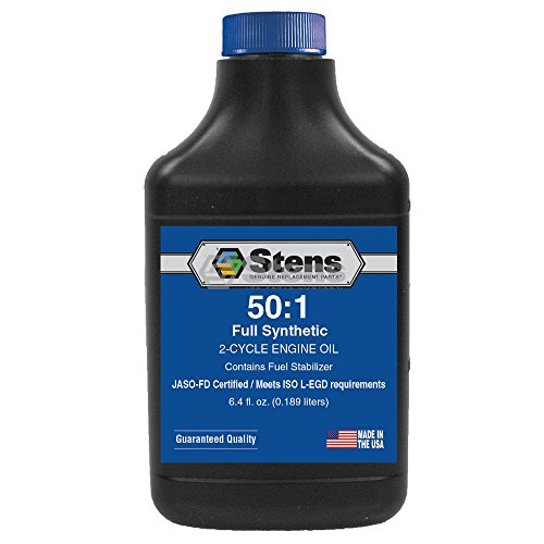 Full Synthetic 50:1 2-Cycle Engine Oil Mix / 6.4 Ounce Bottle/24 Per Case