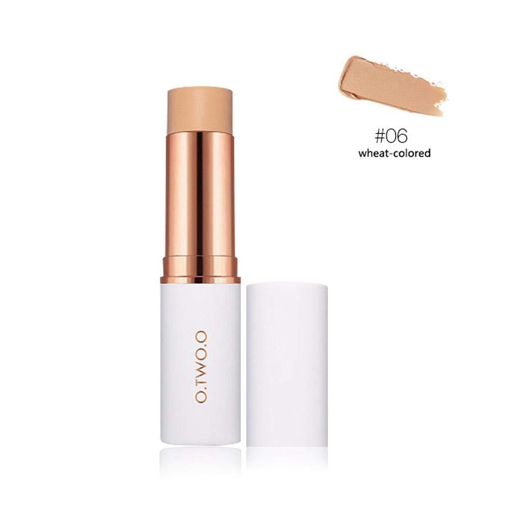 Trucco correttore viso correttore correttiva stick–Aolvo Blemish Concealer Foundation Cream make up per occhi occhiaie viso cosmetici avorio 8.5g O. due.o