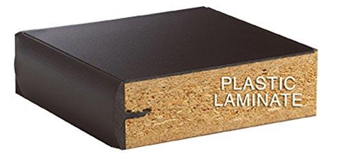 Diversified Woodcrafts P7301K30N - 24''x72'' - 30'' High, Plain Apron Laboratory Table, Red Oak Legs & Apron, Plastic Laminate Top, Made in USA by Diversified Woodcrafts (Image #2)