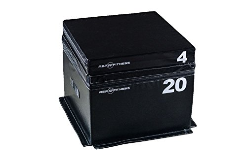Rep Foam Soft Plyo Boxes - 4 inch and 20 inch Combo Set
