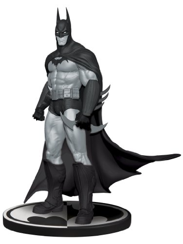 DC Direct Batman Black and White Statue: Batman Arkham Asylum