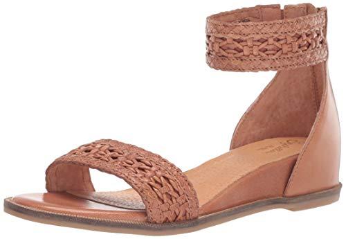 (Seychelles Women's Lofty Woven Wedge Sandal tan 7 M US)