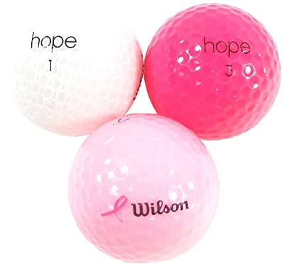 Wilson Hope Recycled Golf Balls (36 Count)