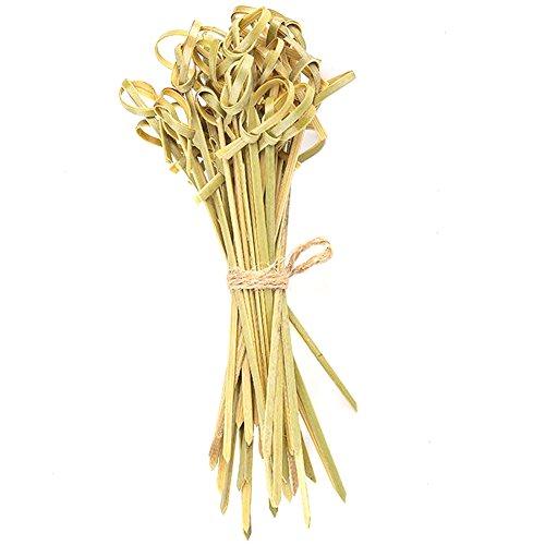 Palillo de dientes desechable de fruta, estilo japonés, palillos de cóctel, nudo de brocheta, ramo de flores, palo de...