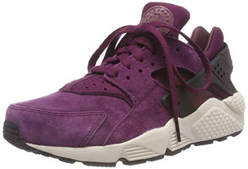 Nike Air Huarache Run PRM, Men's Gymnastics Shoes (10 M US, BordeauxBlackLite Bone)