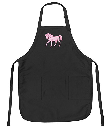 Apron Horse (Broad Bay Horses Aprons Deluxe Horse Theme Apron w/Pockets)