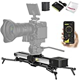 Zeapon Micro 2 E600 Motorized Double Distance Camera Slider  Travel Distance 74cm/29in Max. Payload 8kg/18lbs Ultra Silent Step Motor Power-Off Protection APP Supported Android & iOS