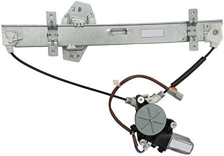 Rareelectrical NEW REAR LEFT WINDOW AC Regular dealer REGULATOR WITH COMPATIBLE Max 74% OFF