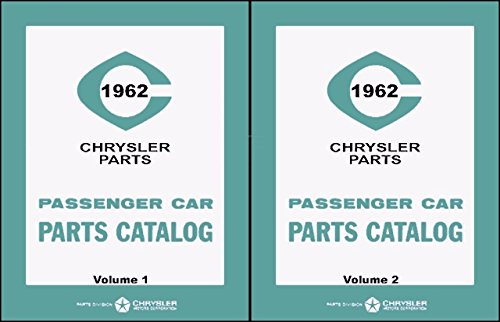 (Illustrated MoPar Factory Parts Manual for 1962 Plymouth - Dodge - Chrysler - Imperial)